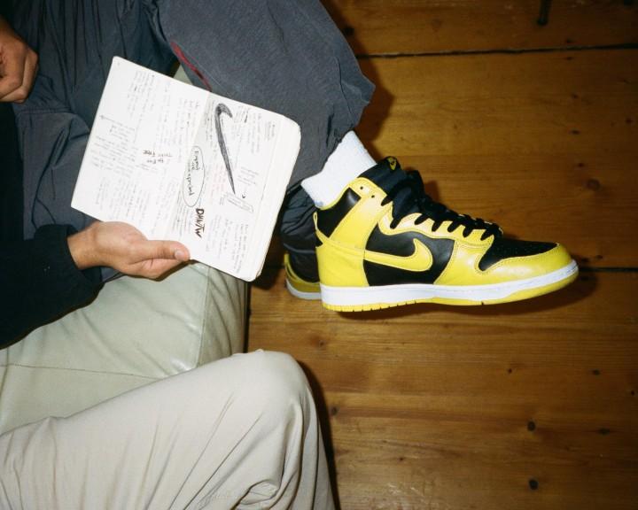 Nike Dunk High x DMWTW for 43einhalb